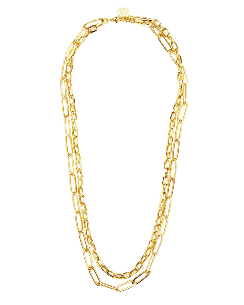 Cloverpost 191482N0Y - Necklace Knit Yellow