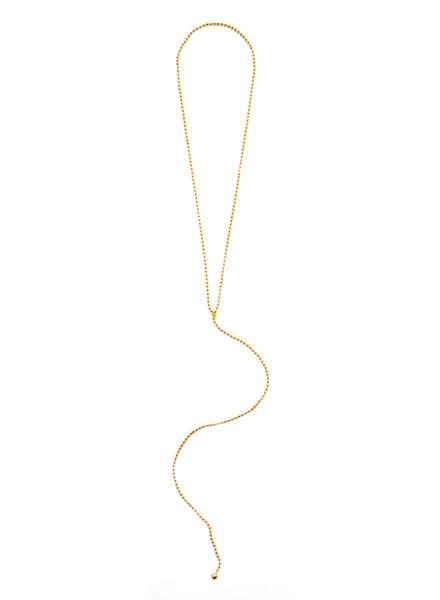 Cloverpost 201781N0Y - Necklace Breakaway Yellow