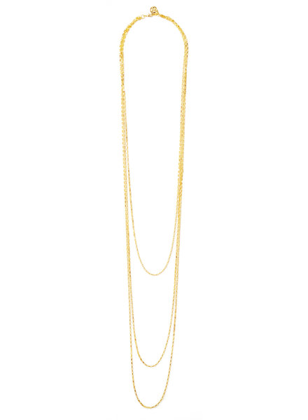 Cloverpost 191692N0Y - Necklace Marrow Yellow