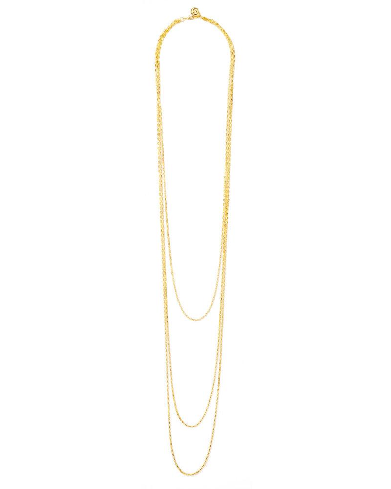 Cloverpost 191692N0Y - Necklace Marrow Yellow