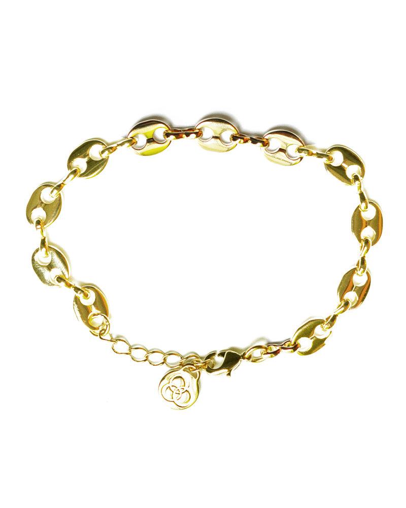 Cloverpost 181299B0Y - Bracelet Bay Yellow