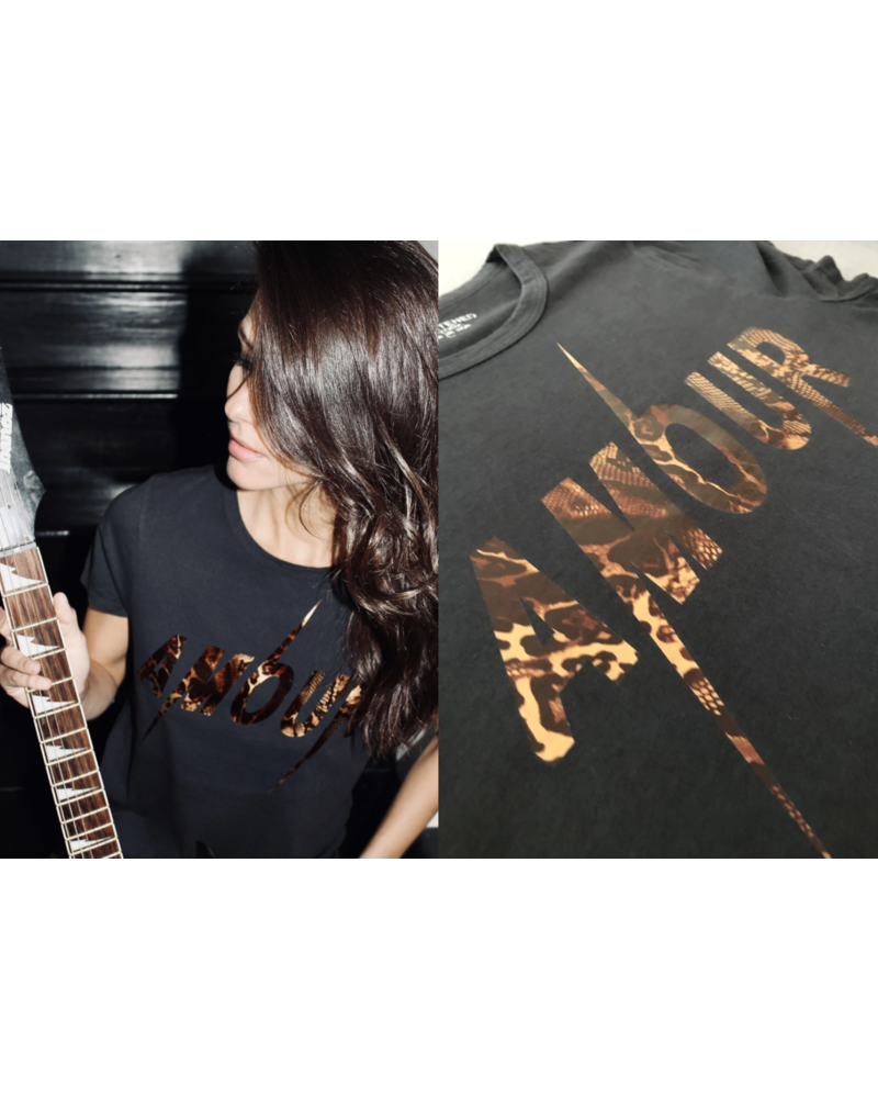 Unsweetened NY Amour Snake Copper Tee H19