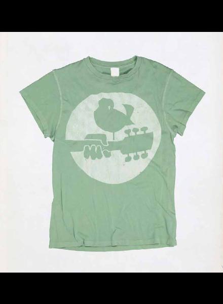 Madeworn Woodstock Crew Tee Leaf Green F19