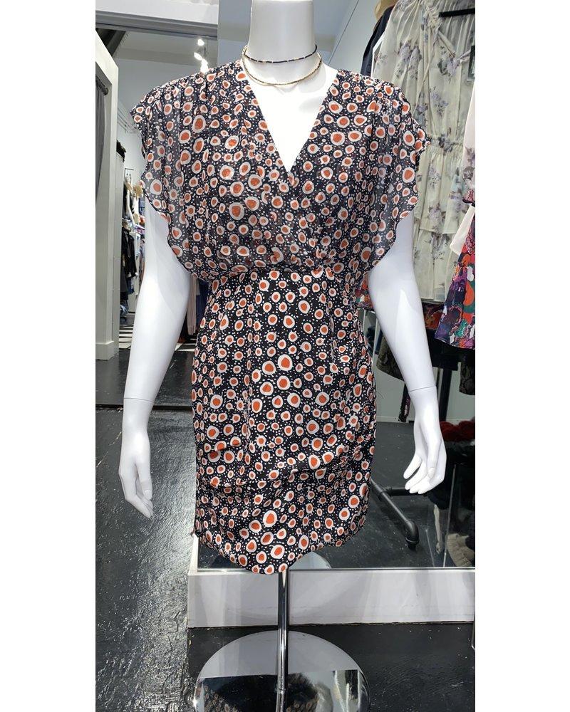 Saloni Brooke Dress 10189 Batik Dot S20