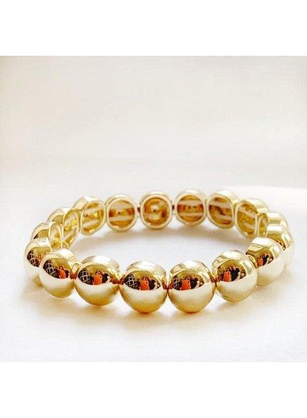 Caryn Lawn Bubble Bracelet Gold