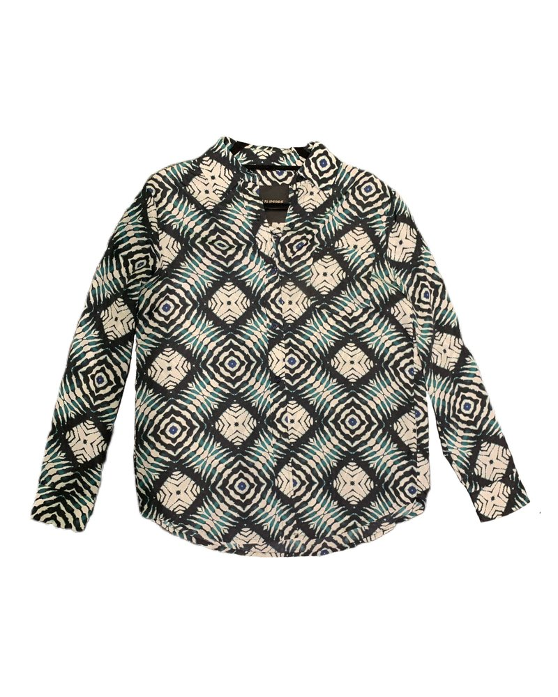 Le Superbe Future Ex BF Shirt Ashbury Print H19