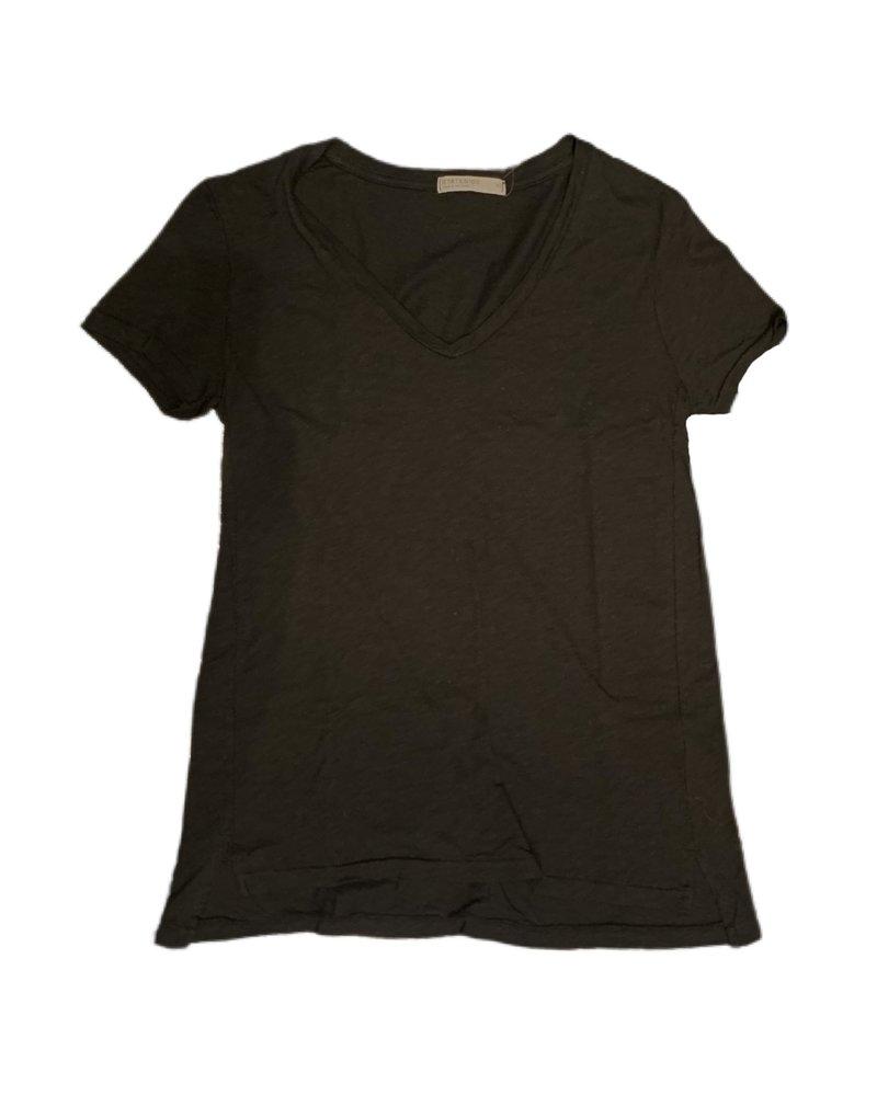 Stateside Slub Short Sleeve V-Neck