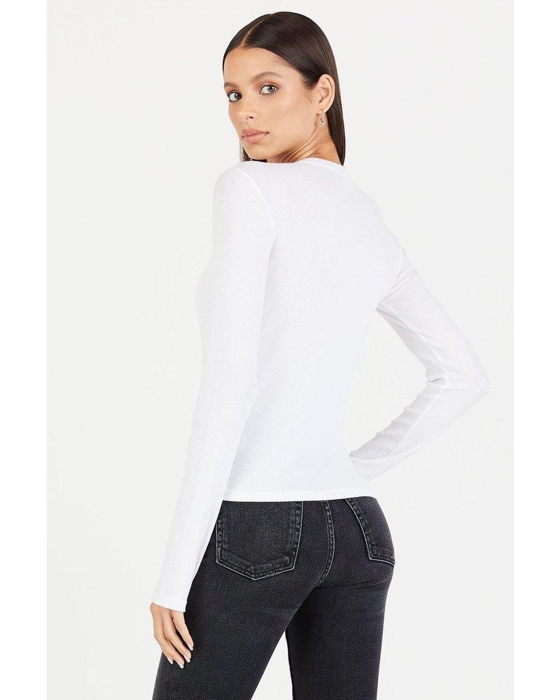 Cotton Citizen Verona Crew Shirt White