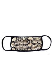 Marlyn Schiff Cream Snakeskin Adult Mask