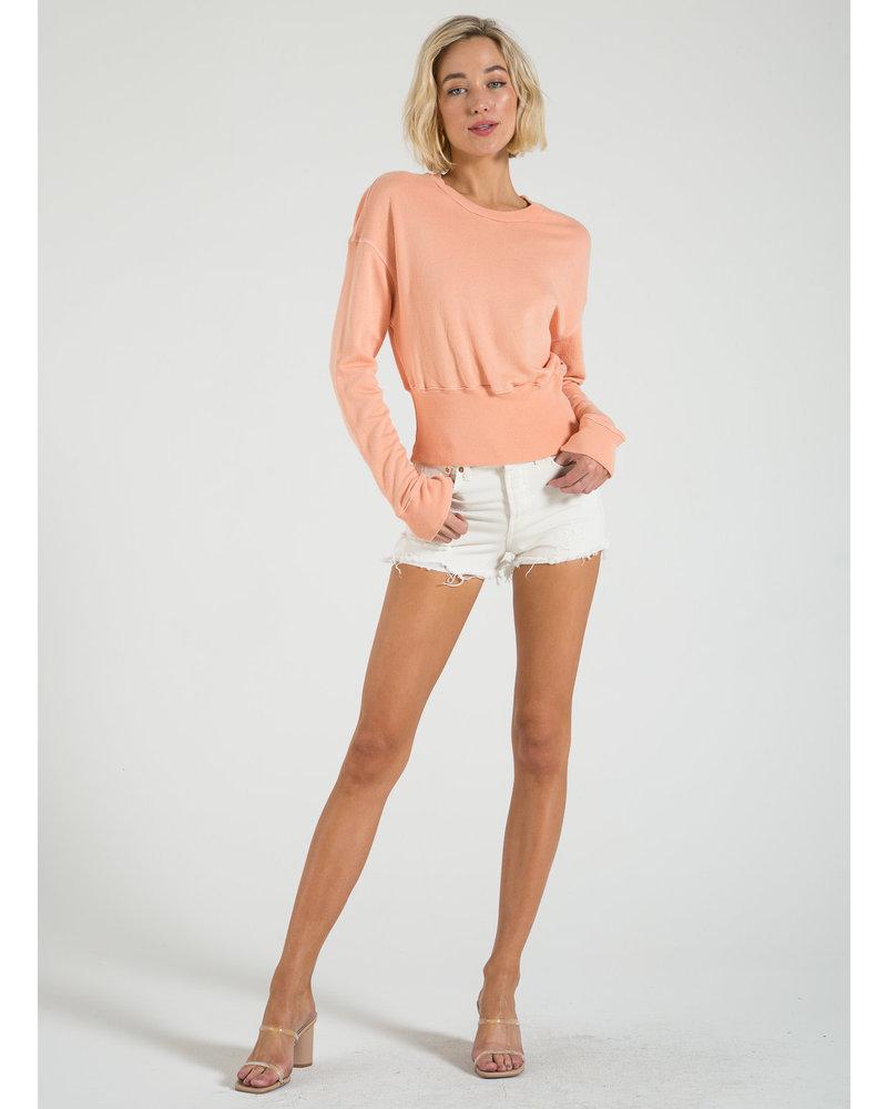 n:Philanthropy Reeves- Sweatshirt Canteloupe S20