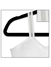 Strap-Its White Bra White Sheer Strap