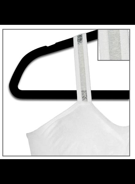 Strap-Its White Bra White Sheer Strap