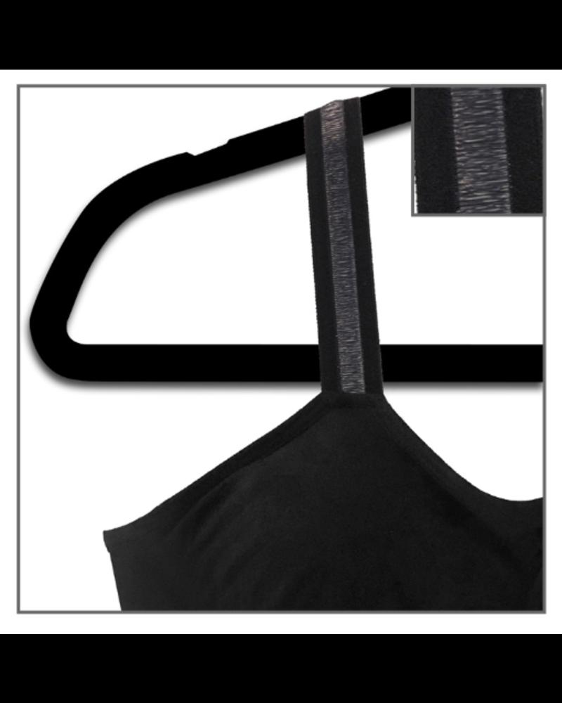 Strap-Its Black Bra Black Sheer Strap