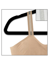 Strap-Its Nude Bra with Attachd Nude Sheer Strap