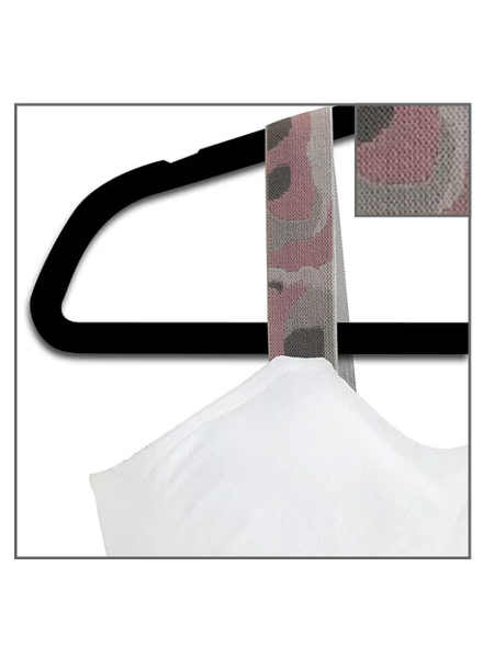 Strap-Its White Bra with Pink Camo Strap