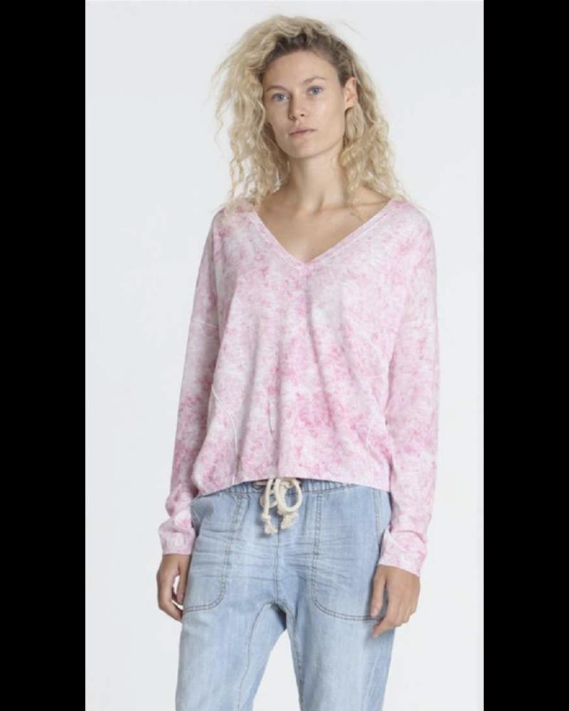 Label + Thread Boardwalk Vee Pink Marble S20