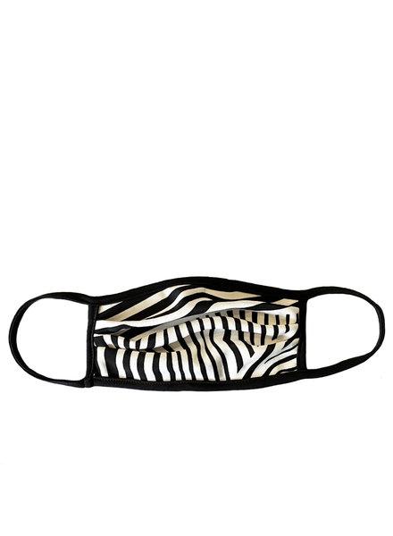 Marlyn Schiff Zebra Adult Mask