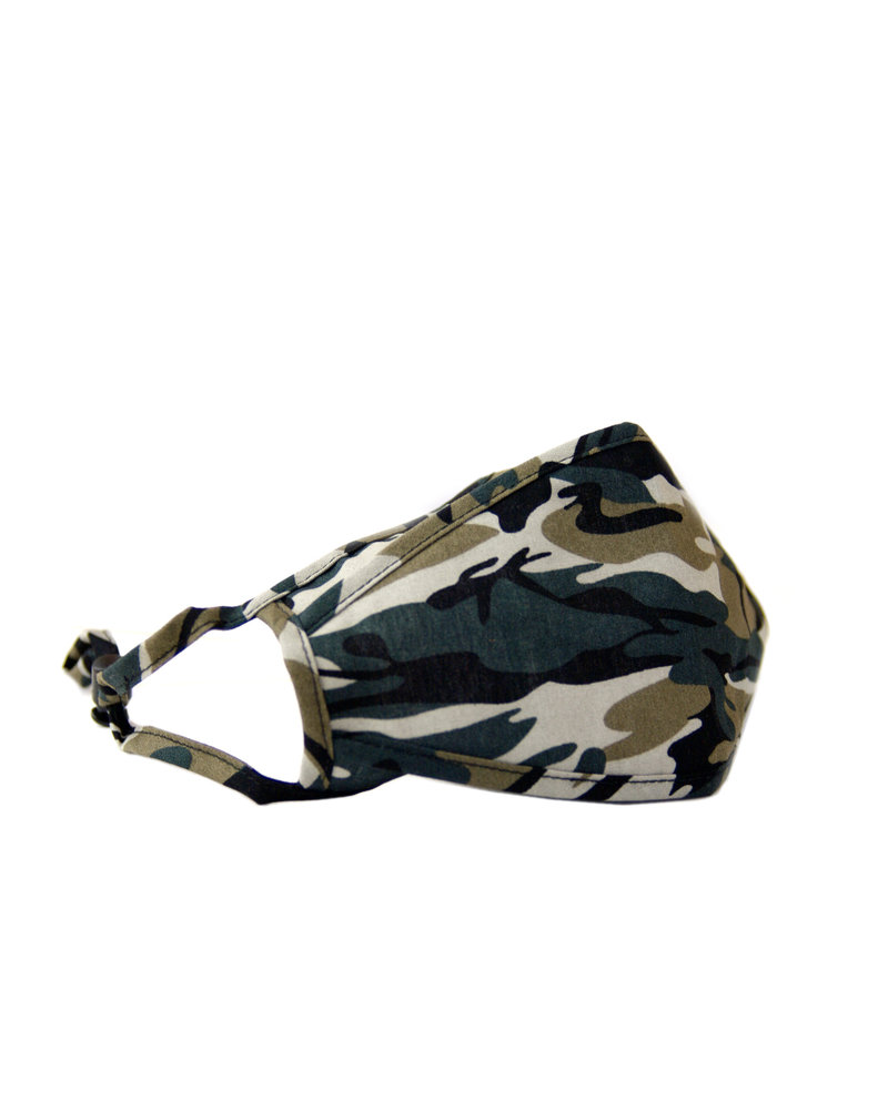 Marlyn Schiff Adjustable Mask Camo