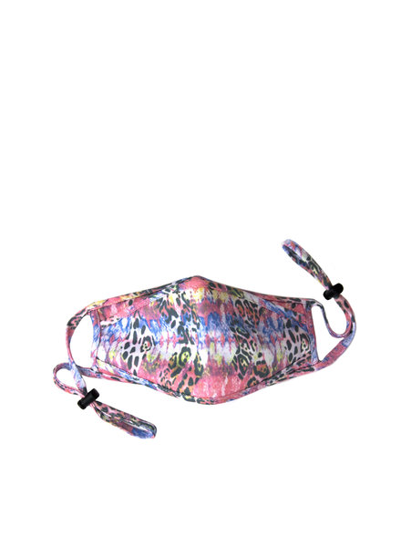 Marlyn Schiff Adjustable Mask Animal Print