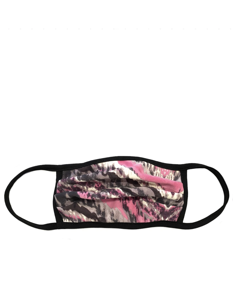 Marlyn Schiff Pink Abstract Adult Mask