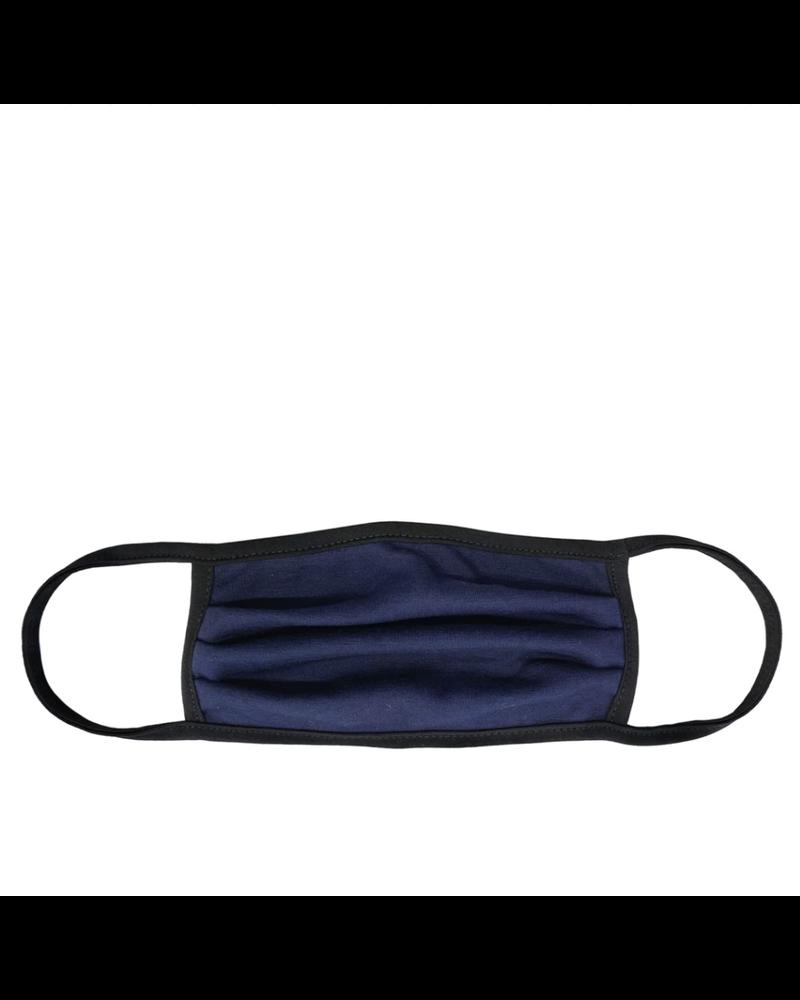 Marlyn Schiff Navy Black Adult Mask