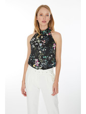 Generation Love Darby Floral Halter Top S20