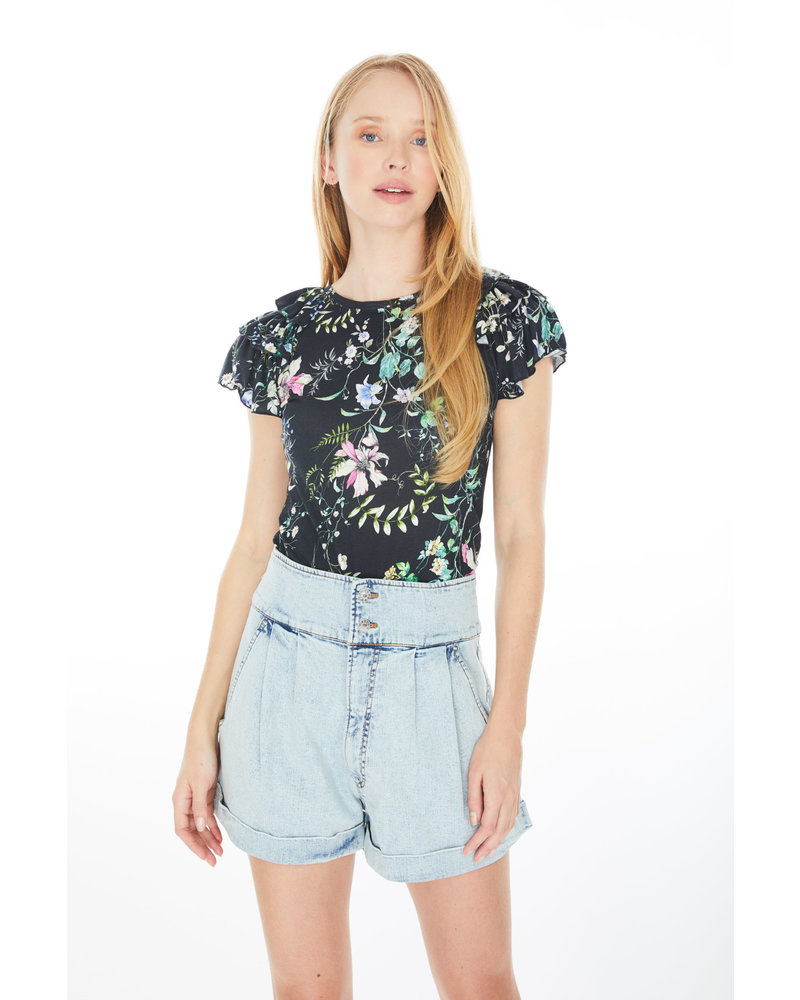 Generation Love Carrie Floral Ruffle Top S20