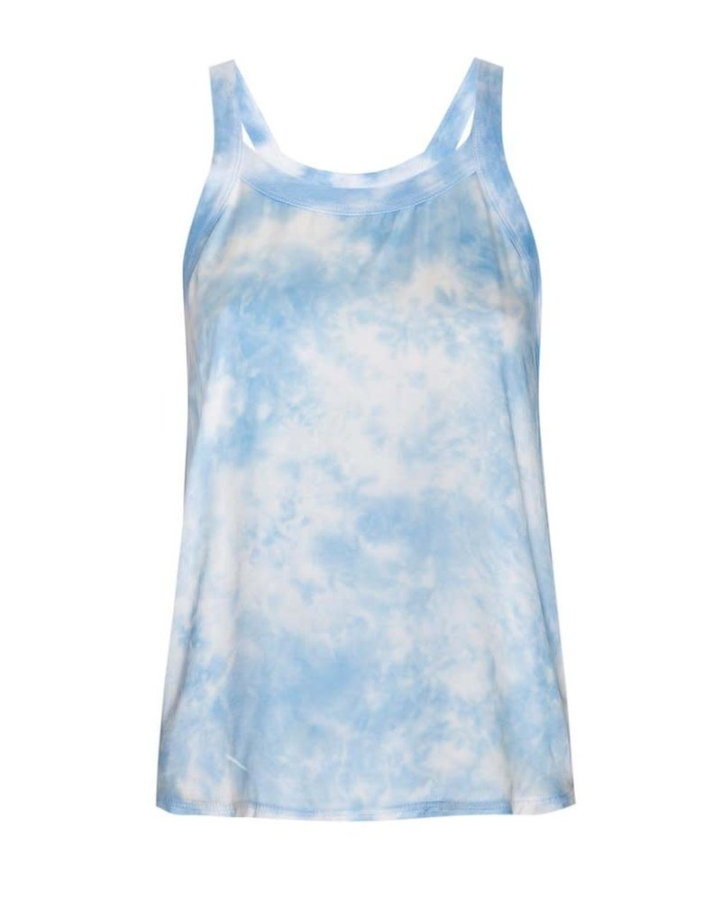 Nation Zora Relaxed Scoop Tank Blue Skies S20