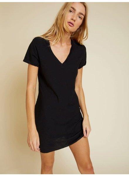 Nation Blair T-Shirt Dress Black S20