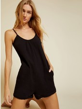Nation Mariah Easy Romper Black S20