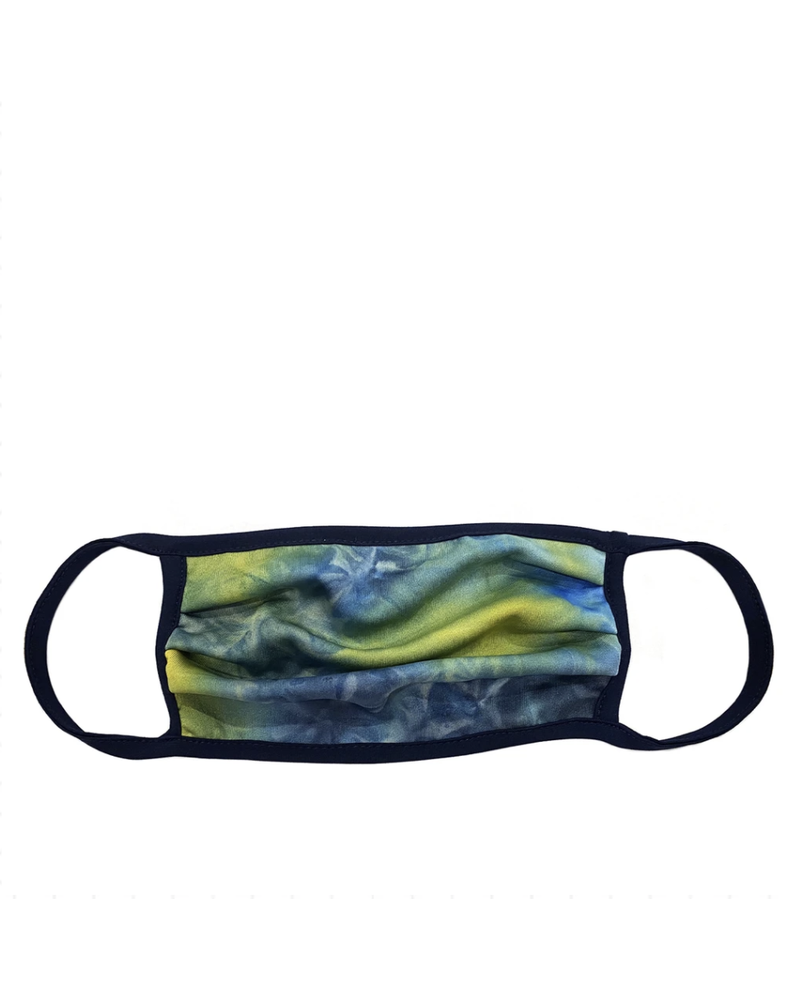 Marlyn Schiff Yellow Tie Dye Adult Mask.