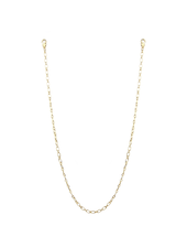 "Marlyn Schiff 26"" small oval link mask chain 1621N Gold"