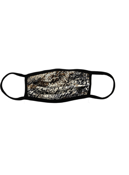 Marlyn Schiff Abstract Snake Adult Mask Neutral