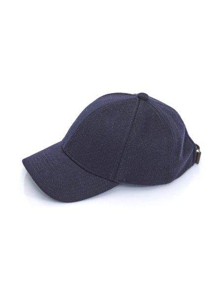 Brodie Cashmere Cap Navy F20