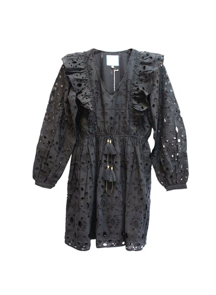 Bell Clarissa Dress Black Lace F20
