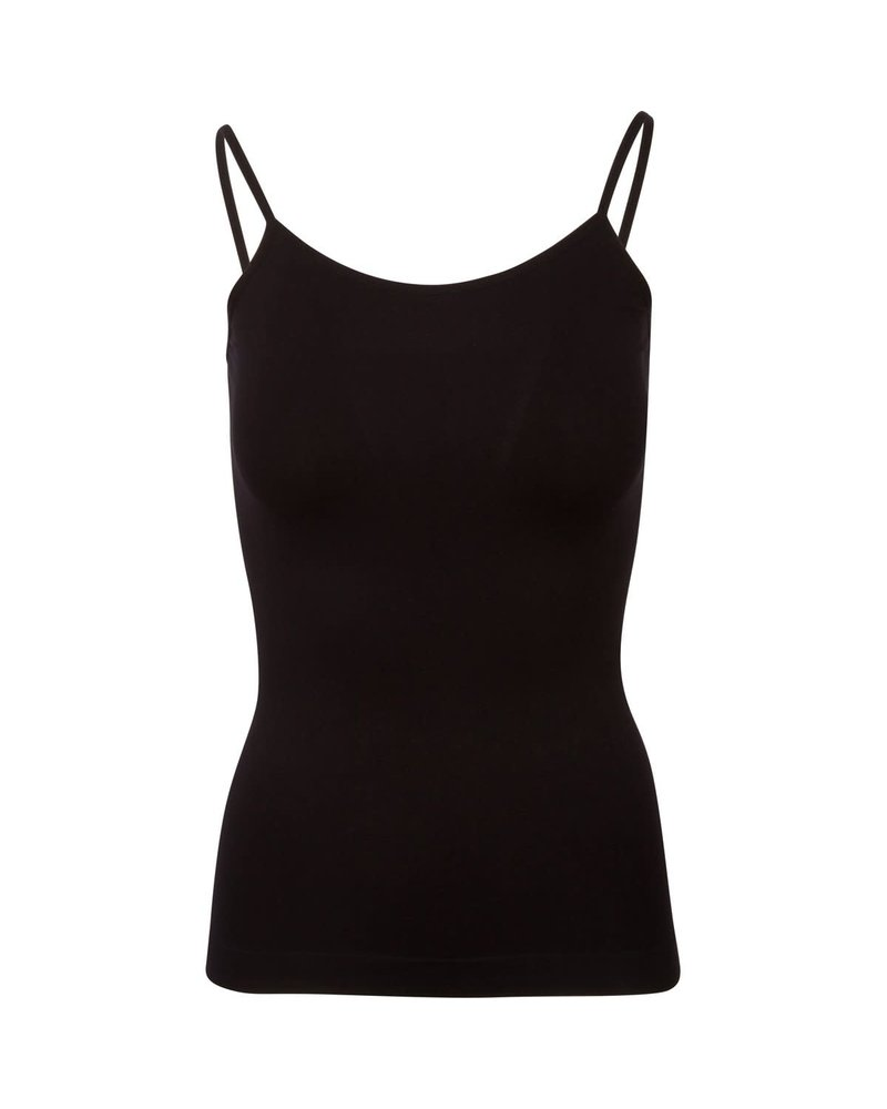 Suzette Collection Basic Cami Black OS