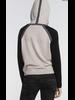 Label + Thread Top Gun Hoodie Oatmeal/Black F20