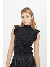 Generation Love Neelam Crystal Sweater Black F20