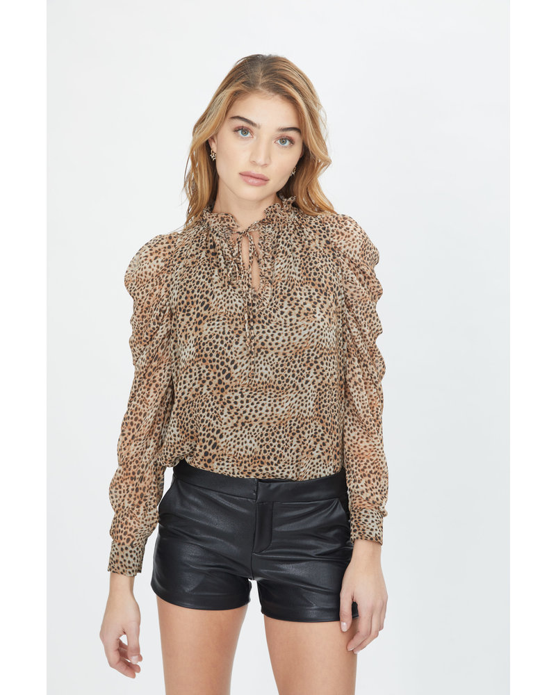 Generation Love Lou Baby Cheetah Blouse F20