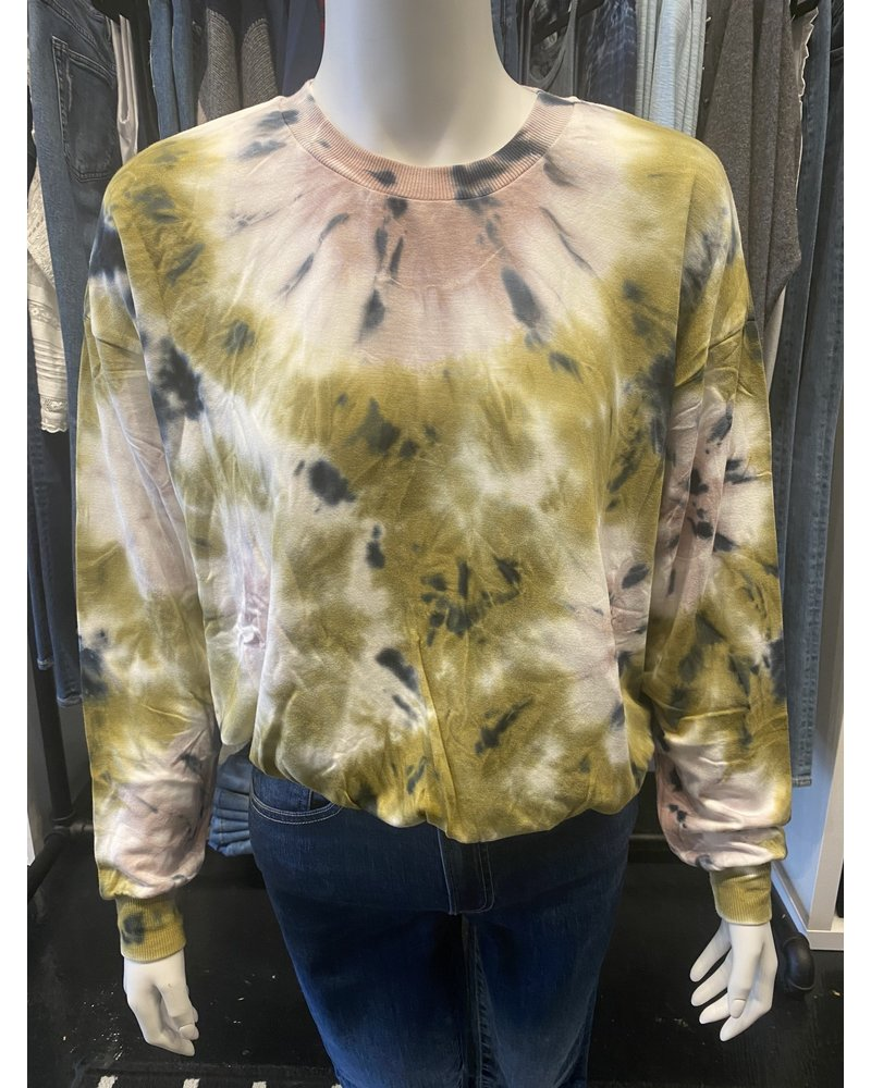 Young Fabulous & Broke Coraline Sweatshirt Venus Wash Willow F20