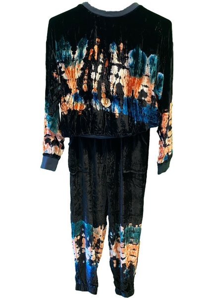Young Fabulous & Broke Taylor Pant Painters Wash Sugarplum F20