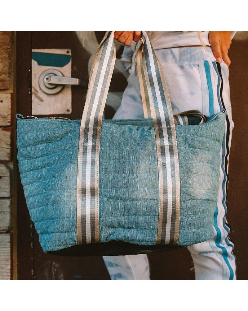 Think Royln Wingman Bag Washed Denim