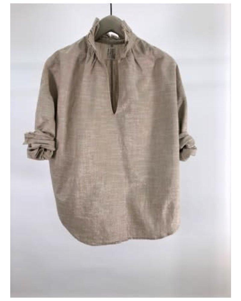 A Shirt Thing Penelope Metallic Champagne F20