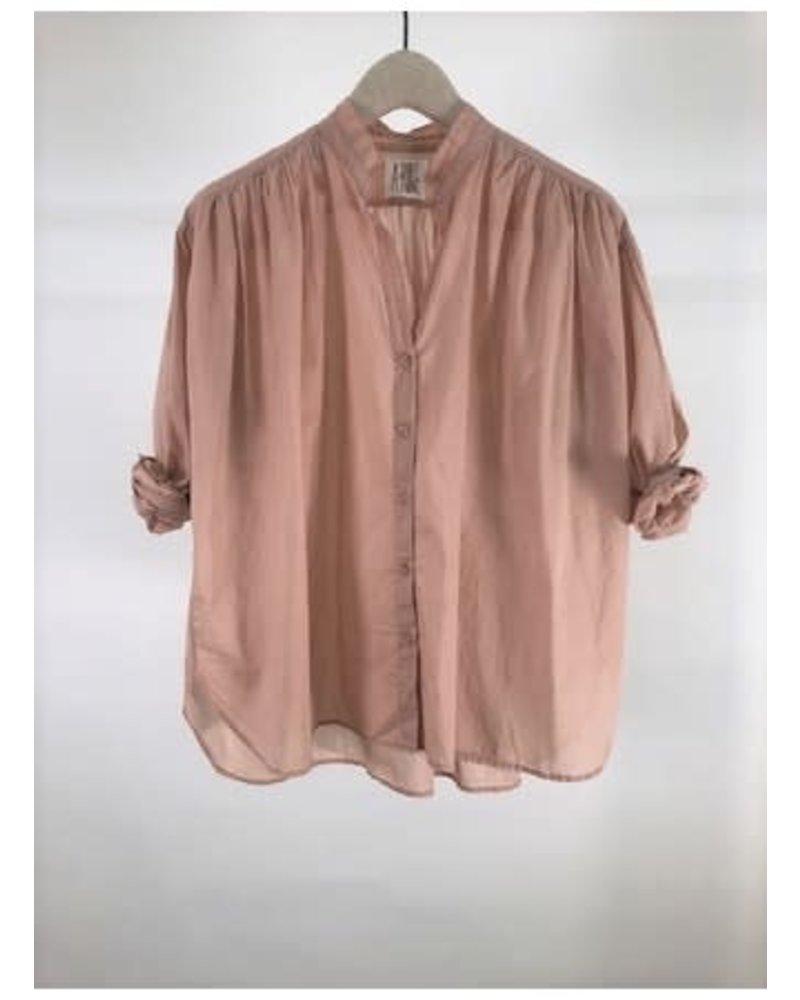 A Shirt Thing Flora Lawn Peach F20