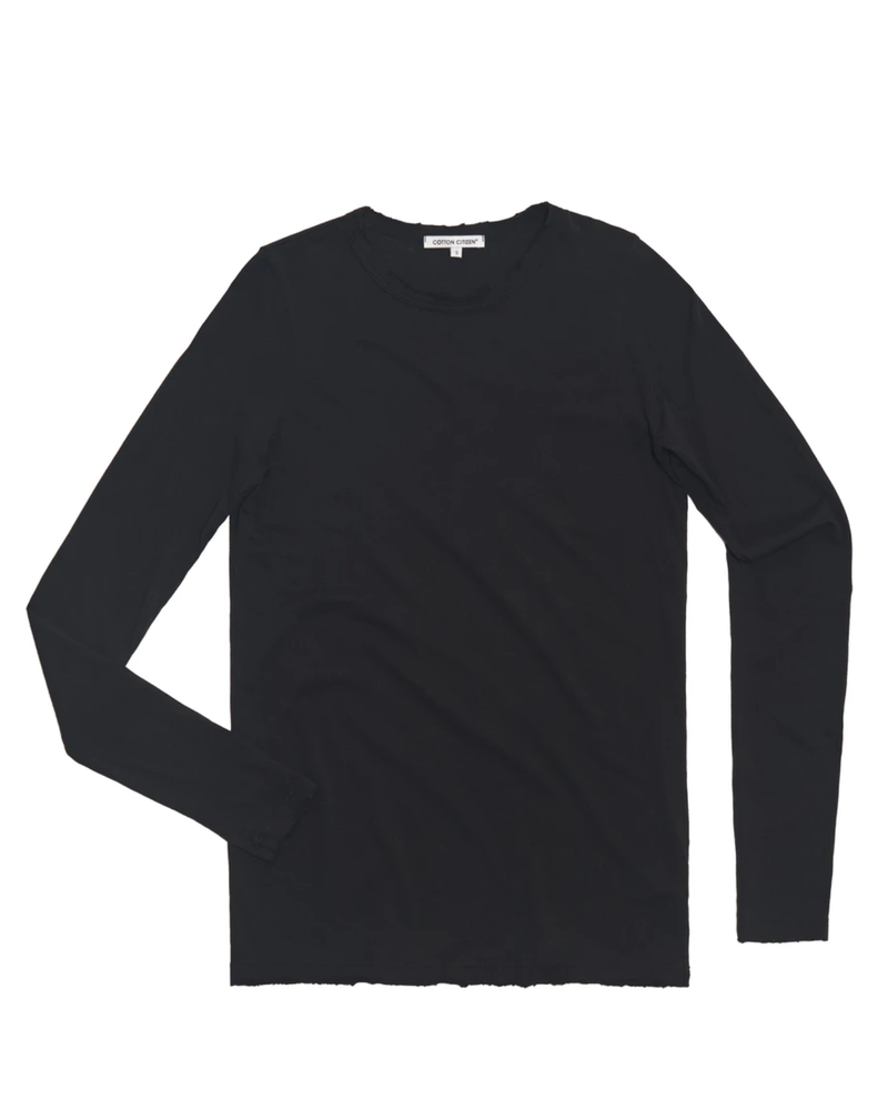Cotton Citizen Standard Shirt Jet Black