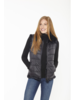 Linda Richards Rex Zip Reverse Vest Black FK-260 F20