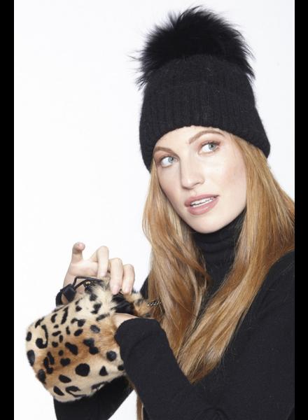 Linda Richards BG 183 Leopard kid Skin Bag
