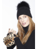 Linda Richards BG 183 Leopard kid Skin Bag