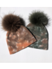 Linda Richards HATD-01 Tie Dye Hat Tan