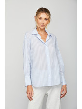 Sundays Kiri Shirt Sky Blue Stripe F20